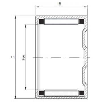Rodamiento BK283816 ISO