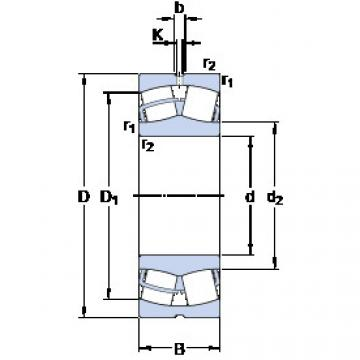 Rodamientos 23248 CC/W33 SKF