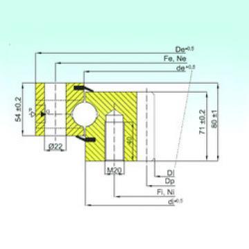 Rodamiento ZB1.25.0755.200-1SPTN ISB