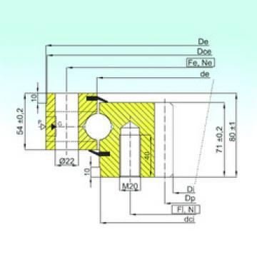 Rodamiento ZB1.25.1255.201-2SPTN ISB