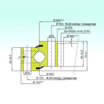 Rodamiento ZB1.25.0663.201-1SPPN ISB