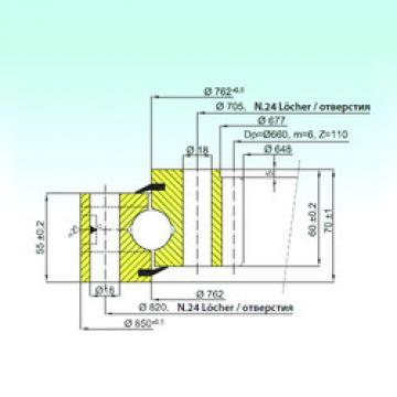 Rodamiento ZB1.25.0762.200-1SPPN ISB
