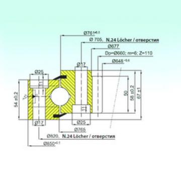 Rodamiento ZB1.25.0763.200-1SPPN ISB