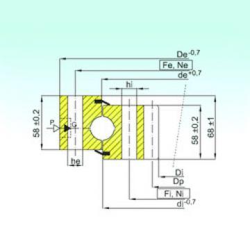 Rodamiento ZB1.25.1754.400-1SPPN ISB