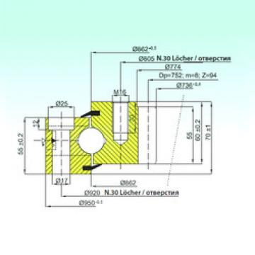 Rodamiento ZB1.25.0862.201-1SPTN ISB