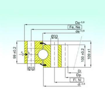 Rodamiento ZB1.50.1800.400-1SPPN ISB