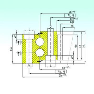 Rodamiento ZB2.22.1088.200-1SPPN ISB