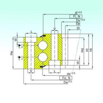 Rodamiento ZB2.30.1351.401-1SPPN ISB