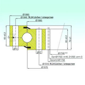 Rodamiento ZB1.28.1879.200-1SPPN ISB