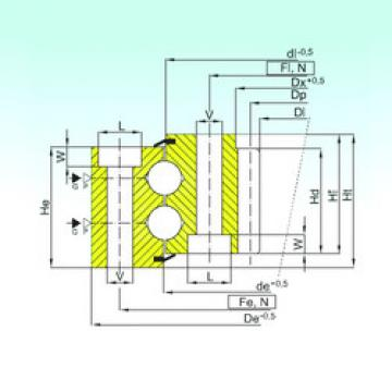 Rodamiento ZB2.30.1613.400-1SPPN ISB