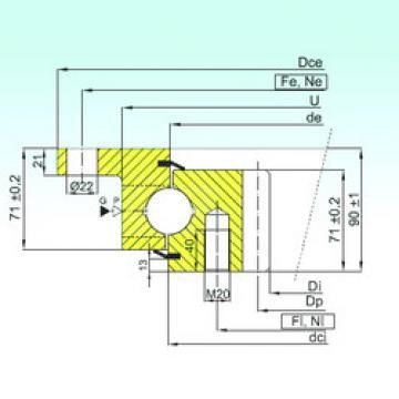 Rodamiento ZBL.30.1255.201-2SPTN ISB