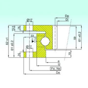 Rodamiento ZK.22.0800.100-1SPPN ISB