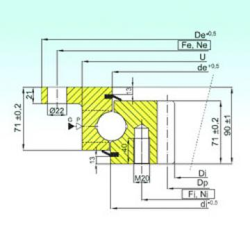 Rodamiento ZBL.30.1355.200-1SPTN ISB