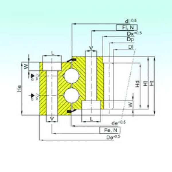 Rodamiento ZB2.30.1351.403-1SPPN ISB #1 image