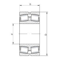 Rodamientos 23272W33 ISO