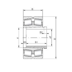 Rodamientos 23252 KCW33+AH2352 ISO
