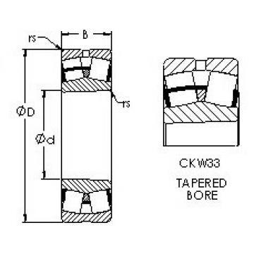 Rodamientos 23264CAKW33 AST